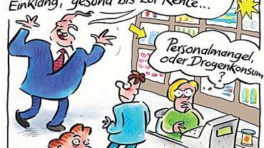 Illustration aus dem Tarifinformationsblatt von ver.di
