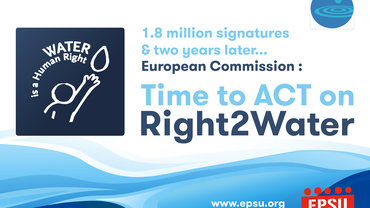 Weltwasssertag 2016 Time to ACT Right2Water