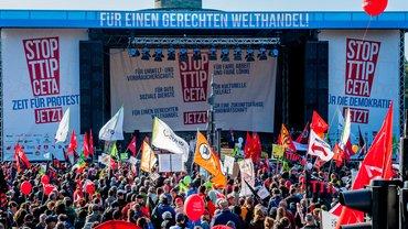 Demo in Berlin TTiP & CETA