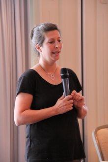 Astrid Schmidt auf der 19. BR/PR-Konferenz Wasserwirtschaft