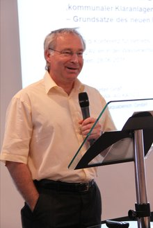 Peter Graf auf der 19. BR/PR Konferenz Wasserwirtschaft