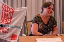 Kirsten Wagner auf der 19. BR/PR Konferenz Wasserwirtschaft