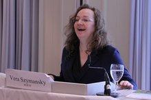 Vera Szymansky auf der 19. BR/PR Konferenz Wasserwirtschaft