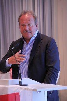 Frank Bsirske auf der 19. BR/PR Konferenz Wasserwirtschaft