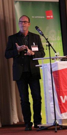 Wolfgang Paul auf der TV-V-Anwendertagung 2016