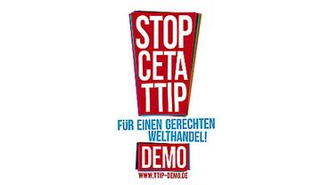 Bundesweite Demos gegen TTIP & CETA (Logo der Bündnisseite)