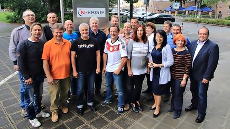 Der Betriebsrat der N-ERGIE AG beim Deutschen Betriebsrätetag 2016