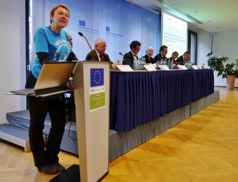 """Symposium """"Menschenrecht Wasser umsetzen"""""""