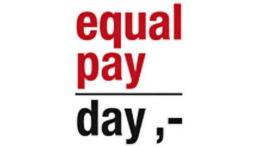Logo zum Equal Pay Day