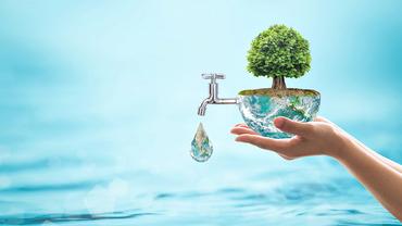 Nachhaltige Wasserwirtschaft ist eine zentrale Herausforderung unserer Zeit.