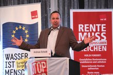 Andreas Scheidt auf dem 20. 20. BR/PR Konferenz Wasserwirtschaft