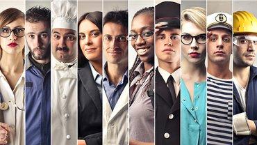 Berufe Junge Generation Collage