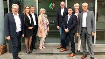 Konzernbetriebsratsmitglieder von EON_RWE_innogy und Gewerkschaftsvertrter