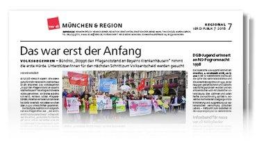 Münchenseite ver.di-Publik 07-2018