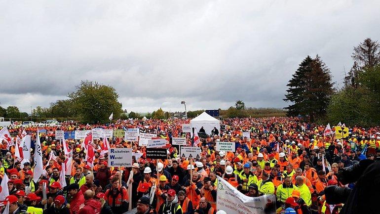 Demonstration Kundgebung Kohleausstieg FB02