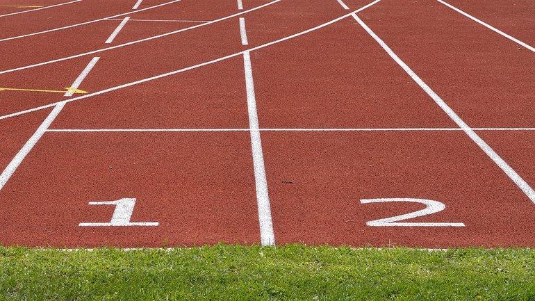 Start bereit startklar Rennen Wettkampf