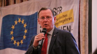Grußwort von Bodo Ramelow, Ministerpräsident des Freistaats Thüringen, auf der 21. Konferenz für BR, PR und JAVen in der Wasserwirtschaft