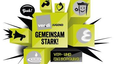 Logo der Jugend im Bundesfachbereich Ver- und Entsorgung