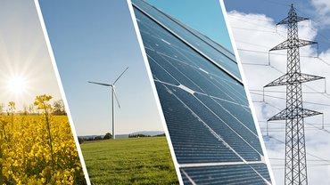 Der Anteil erneuerbarer Energien muss kontinuierlich steigen, um die Klimaziele zu erreichen.