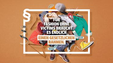 Lieferkette.de – auch in der Textilindustrie braucht es einen gesetzlichen Rahmen