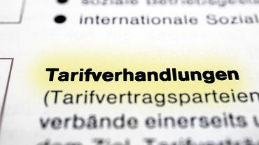 Tarifverhandlung Lexikon