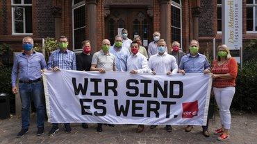 Unsere Tarifkommission für einen sozialverträglichen Kohleausstieg bei RWE (08/2020)