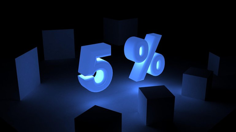 5 Prozent Forderung