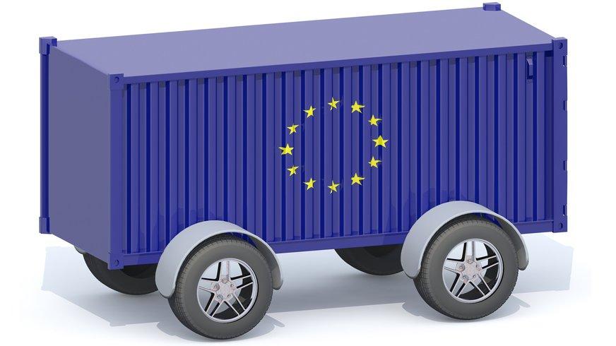 Freihandel EU Europa Export Transporter