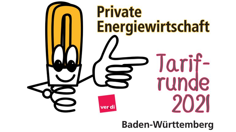 Private Energie Baden-Württemberg Entgeltrunde 2021 Logo