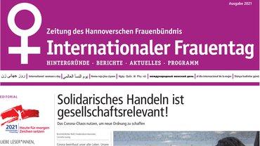 Zeitung des Hannoverschen Frauenbündnisses zum IFT
