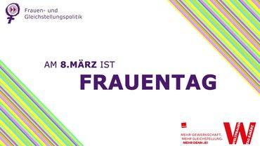 Frauentag Mitmachfilm Screenshot Logo 08. März