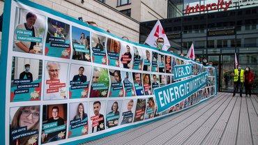 AVEU Dresden Tarifaktion Tarifrunde 2021